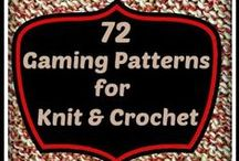 Game knitting/crochet patterns / Game featured
