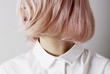 Pink hair, don't care / pink