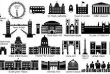 města, budovy