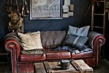Man cave / Whether called man space, male sanctuary or men's den...the man cave should be included in every home. It's only made by men and it's only for men.