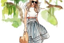 """fashion design inspiration & tips / """"WHO ARE YOU WEARING?"""" / by Dani"""