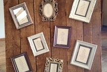 Table Plan Ideas / Just a few ideas we've seen & liked here at Packington Moor