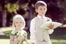 Flower Girls & Page Boys / Jobs for the little ones on your special day!