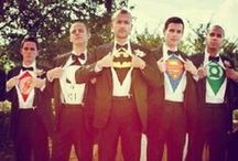 Superhero Wedding Theme / We know how popular this theme can be. We've seen it quite a lot lately. Here are a few ideas that we love!
