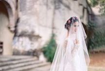 Wedding Veils / We don't see many wedding veils anymore. Will you be different and opt for one on your special day?