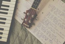guitar & voice & piano / music appreciation  / by Dani