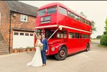 Real Wedding - Kate & Drew 3rd July 2015 / Kate & Drew got married at Packington Moor on 3rd July. It was a beautiful hot day and Kate looked stunning. We loved her transport for the morning and the whole day went wonderfully. Pictures provided by Claire  Evans.