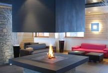 Fireplaces and chimneys / Everything about beautiful and architectural fireplaces and chimneys!