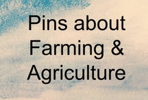Farming / An overview board of the type of information that COULD be pinned if one were using Pinterest to market a business in the Agriculture space.  Contact me to discuss how you can use Pinterest for your specific farm-oriented business.  Sign up for the newsletter at www.pinterestdone4u.com/contact to learn what I'm learning.