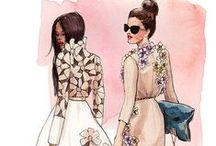 Fashion Illustrations & Sketches
