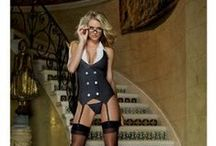 SEXY Wear > Costumes > Naughty Role Play / Adult apparel to dress up for couple's play in the boudoir.