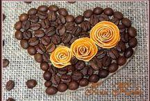 Кофе, Топиарий, Мешковина, джут, Шишки и другие природные материалы