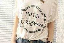 Print t-shirt & sweatshirt