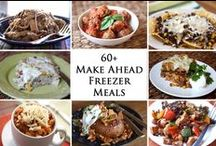 Freezer/Crockpot Meals / by Dina Ghafir