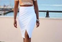 Lovely Skirts for Summer / Sommer skirts in all variations