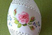 eggs carved - Wydmuszki gęsie ażurowe / eggs carved decorative hand made ręcznie wykonane pisanki ażurowe   ażurkowe ażurki, a la koronki haftu Richelieu