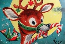 Christmas graphics-deer / by Mabel McCracken
