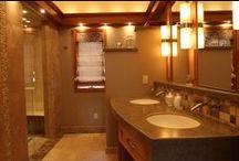 Bathroom Design / Wright Do-it Center Custom Bath Designs