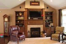 Living Room Design / Wright Do-it Center Custom Design