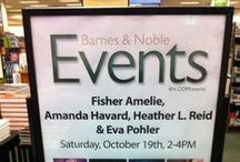 My Events,Book Signings, blog tours, and more! / Posters for events I'm attending for Pretty Dark Nothing