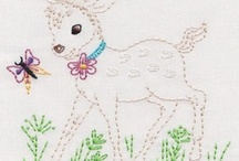 embroider - animals/birds / by Mabel McCracken