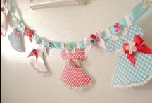 paper - bunting/banners/backdrops/etc / by Mabel McCracken
