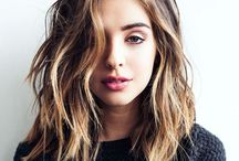 HAIR • styling • inspiration / Hair inspo - colors & style