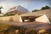 House design / Greek architect. Interior design. Interior design ideas.