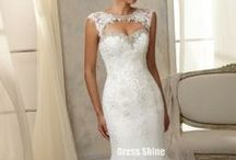 potential dresses / Beautiful wedding dresses that could make that day special.