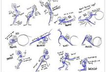 캐릭터 인체 구도 / 구도/선/방향, 인체, 사진