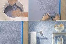 bývanie - maľovanie, tapetovanie