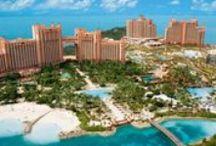 Nassau, Bahamas / The Atlantis Resort, Sandals, Riu-great brands located in a great destination.