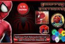 Spiderman Parti Malzemeleri / Çocuğunuzun en sevdiği çizgi film karakteri olan Spiderman temalı parti hazırlamaya ne dersiniz. Şimdi spiderman doğum günü parti malzemeleri ile konseptinizi oluşturarak çocuğunuzun  bu mutlu gününde onu daha da fazla mutlu edebilirsiniz. #spiderman #parti #malzemeri #dogum #gunu #sus #konsept #seti #gorselleri #happy #party #ideas #supplies #nerede #satilir #nasil #yapilir #İstanbul #susleri #örnekleri #konseptleri #dekorasyonu