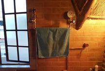 DIY Steampunk Bathroom