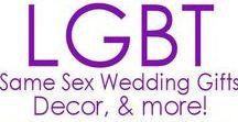 LGBTQIA Weddings / All about LGBTQIA weddings! Love is love is love is love.