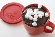 Mug Desserts / Easy single-serving desserts you can make in a CorningWare Pop-In Mug! / by CorningWare