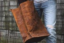 Leather bags / The hunt for that one special leather bag