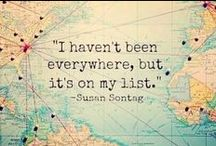 be a traveller / keep calm and travel on