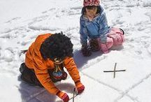 :: Snow Day Activities :: / Being snowed in with the little ones doesn't have to be stressful! Indoor fun for children, indoor activities, things to do