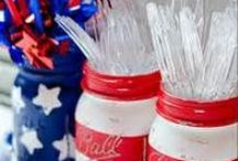 4th of July / Independence Day recipes, decor, crafts, outfits, activities, and more!