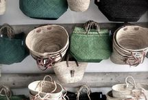 Natural Baskets, Bags & Shoppers / Handmade baskets, raffia bags,  natural bags, jute pot plant holders