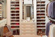 Decoração | Closet / Dicas e ideias para a decoração e arrumação do Closet.