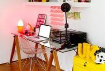 Decoração | Decoration- Home Office / Dicas e ideias para a decoração do Home Office