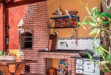 Decoração | Churrasqueiras / Dicas e ideias para a decoração da área da Churrasqueira