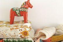 Swedish Dalahorses / The Dalahorse is our Skandihome mascot, this board is dedicated to all things horsey!