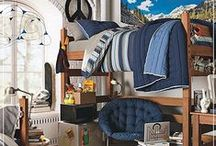 Room Inspiration / Here you will find college residence hall rooms that will inspire you to decorate and design your own room, making your home away from home a little more cozy.
