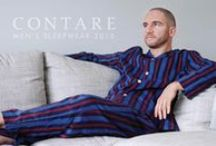 Contare Campaigns / Contare Quality Sleepwear For Men.  Every product decision is made with comfort in mind. We know the importance of sleeping comfortably and our 100% cotton garments are nothing short of slumber in style.