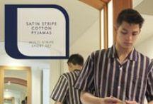 Contare Satin Stripe Men's Pyjamas