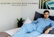 Contare Country Cotton Rich Sleepwear / Gloster's Cotton Rich sleep range means that these pyjamas are easy care and comfortable at the same time.