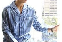 Contare Country Winter Sleepwear / The Gloster Winter Flannelette Range for men is both comfortable and warm.